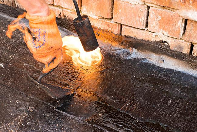 Heating Modified Bitumen
